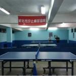 汐止區桌球協會成立暨友誼賽